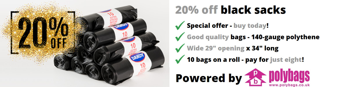Polybags dustbin bags